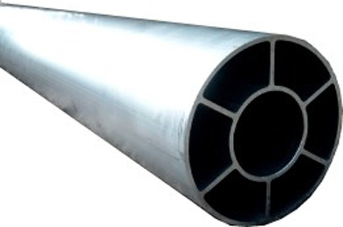 Smoothly running shafts and rollers