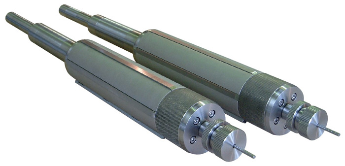 Mechanical winding shafts